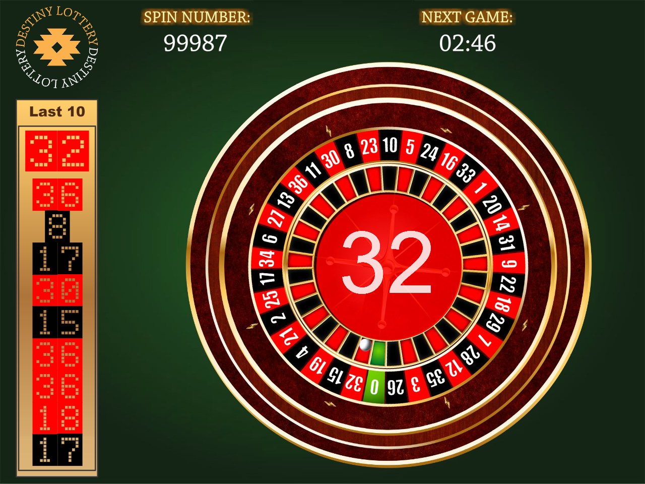 Virtual roulette open source roulette game system